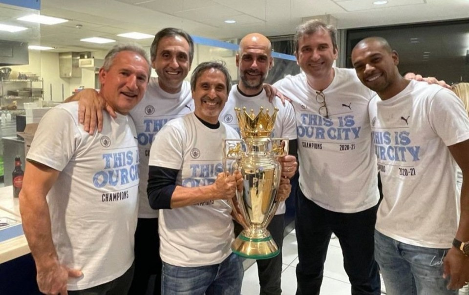 Pep Guardiola has enjoyed impromptu title-glory parties more than bigger events