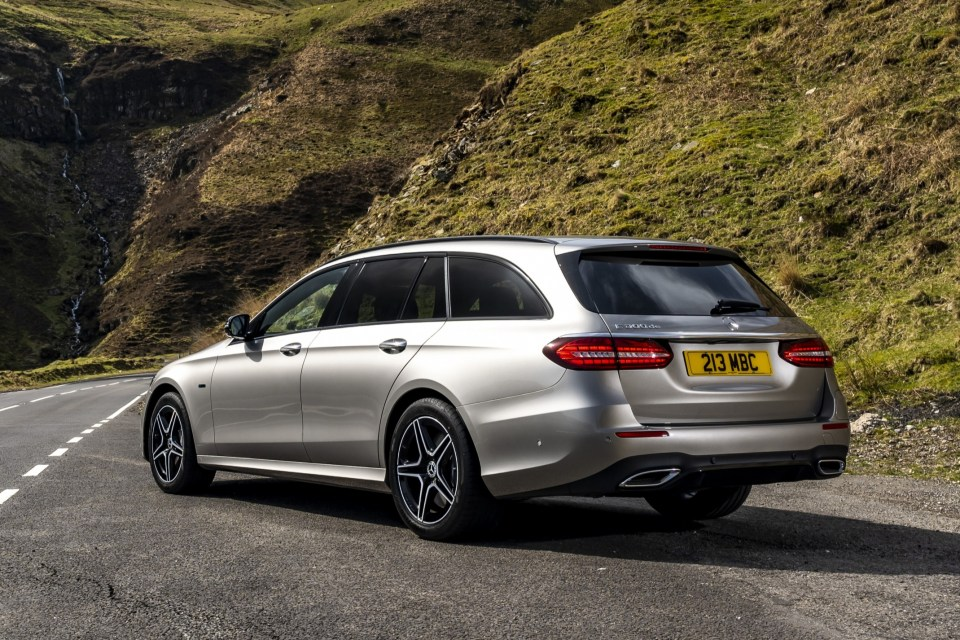 The E-Class Estate is the biggest and toughest estate Mercedes makes