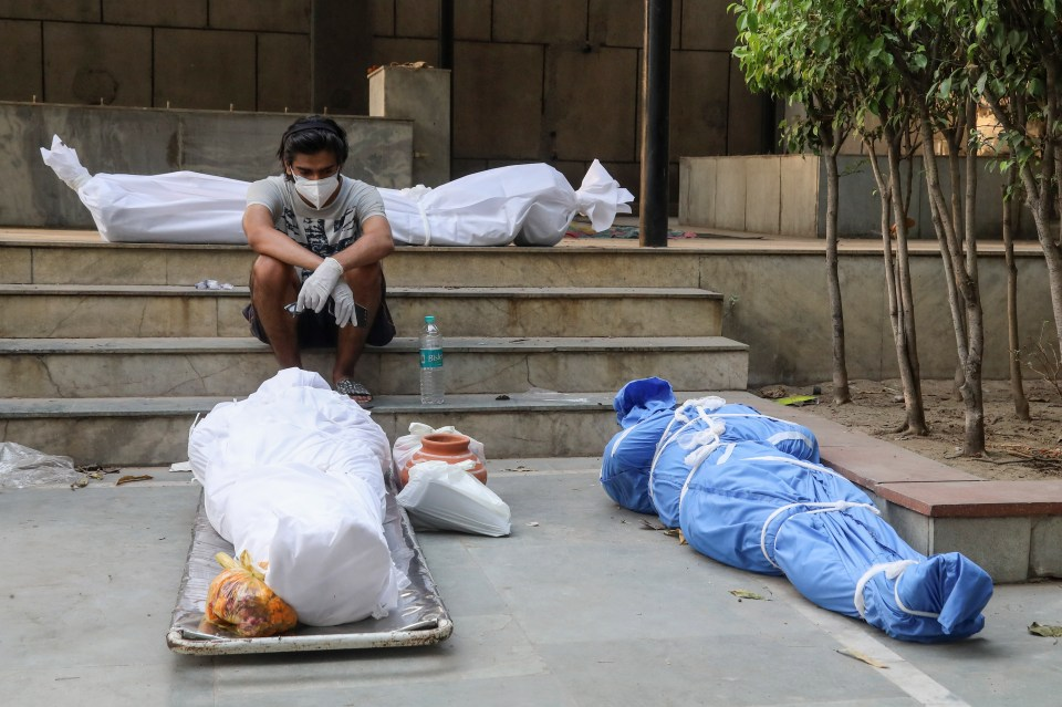 India has hit horrific totals of more than 400,000 new daily infections