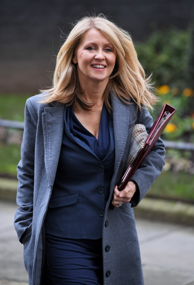 Tory MP for Tatton Esther McVey has urged for Hancock's dismissal