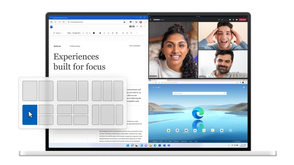 Windows 11 makes some major changes