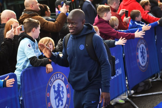 Kante admitted he was too polite to say no to the fans, causing him to be late for a team meeting