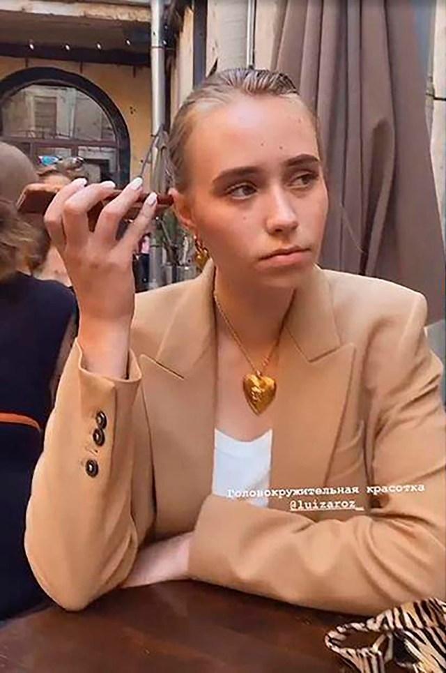 Luiza Rozova, who is also known as Elizaveta Krivonogikh