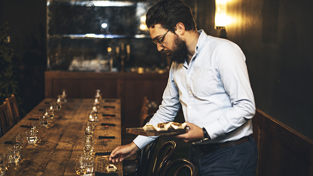Mac and Wild offer a unique whisky tasting experience in the dark
