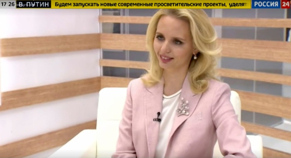 Maria Vorontsova speaks to state channel Rossiya 24 about her work as an expert in rare diseases