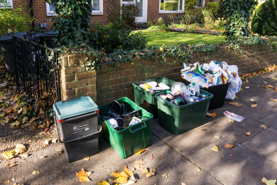 You could end up with seven bins outside your house