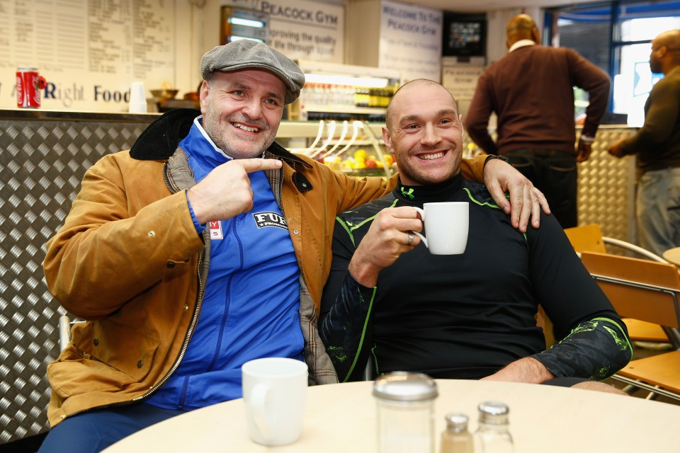 John Fury has serious concerns over son Tyson's upcoming trilogy with Deontay Wilder
