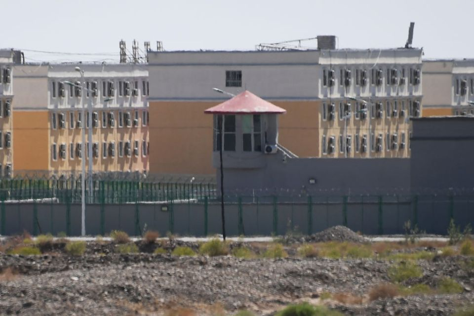 Buildings at the Artux City Vocational Skills Education Training Service Center, believed to be one of many re-education camps