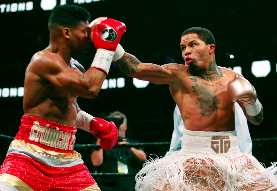Gervonta Davis is unbeaten as a professional across two weight divisions