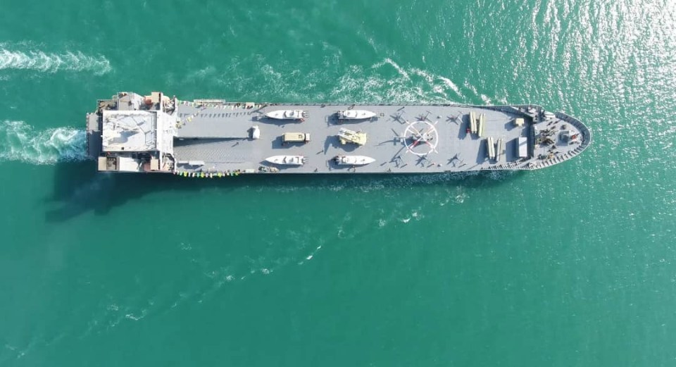 The journey will marks Iran's first completed journey across the Atlantic