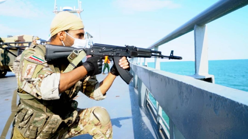 US officials fear there are weapons on board
