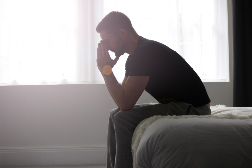 Men can get post natal depression and some may feel guilty towards the mother