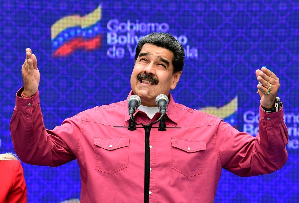 Venezuelan President Nicolas Maduro has close ties with Iran