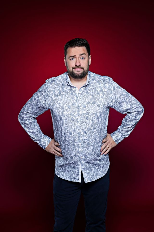 Jason Manford has been on a health kick this year