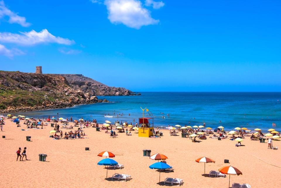 Malta has great beaches