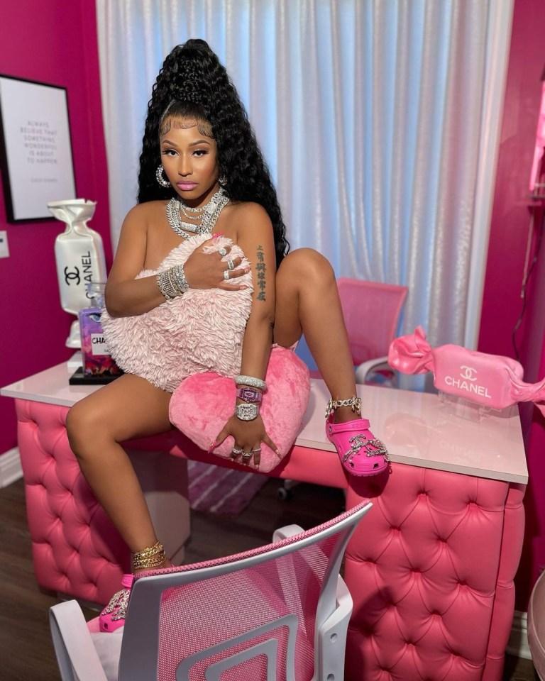 Last month Nicki Minaj broke the internet with her skimpy Crocs photoshoot