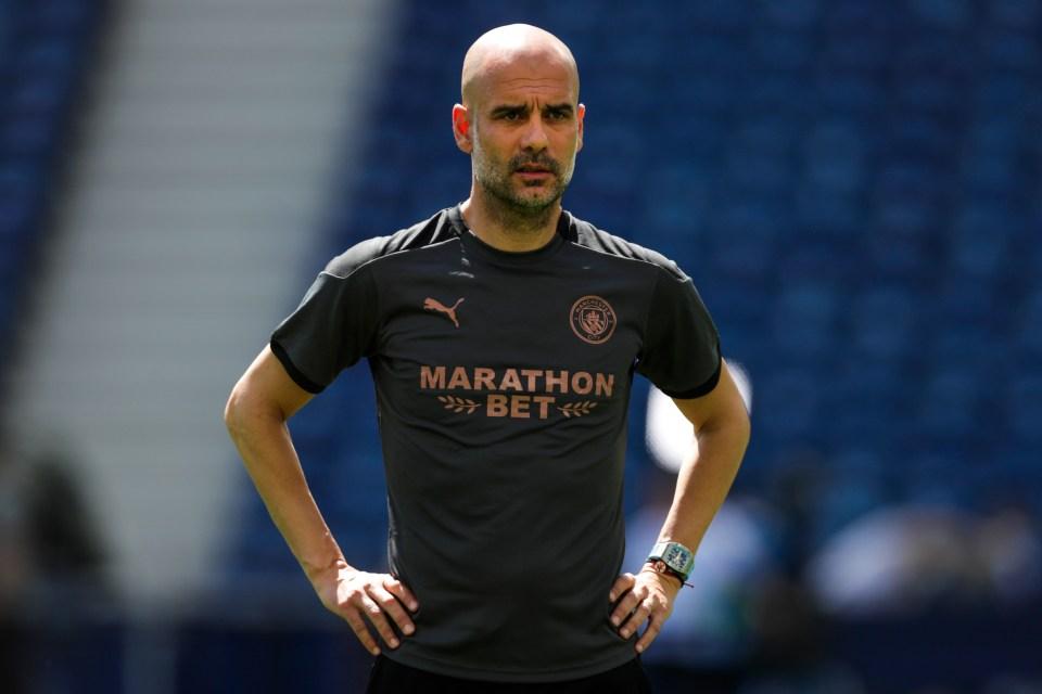 Man City boss Pep Guardiola is after a new superstar striker following the departure of record scorer Sergio Aguero