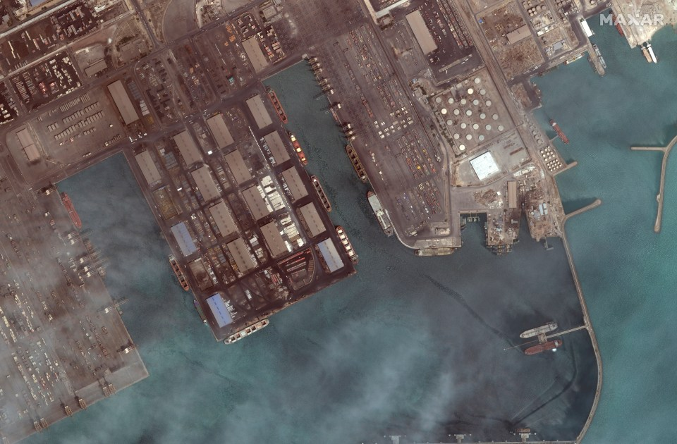 Satellite images from Planet Labs Inc. suggest the boats left a port at Bandar Abbas sometime after April 29