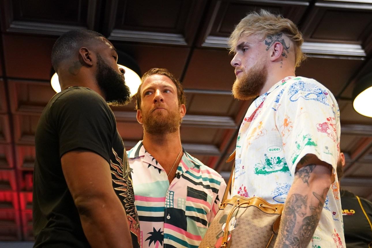 Joe Rogan calls Tyron Woodley most dangerous opponent of Jake Paul's career.