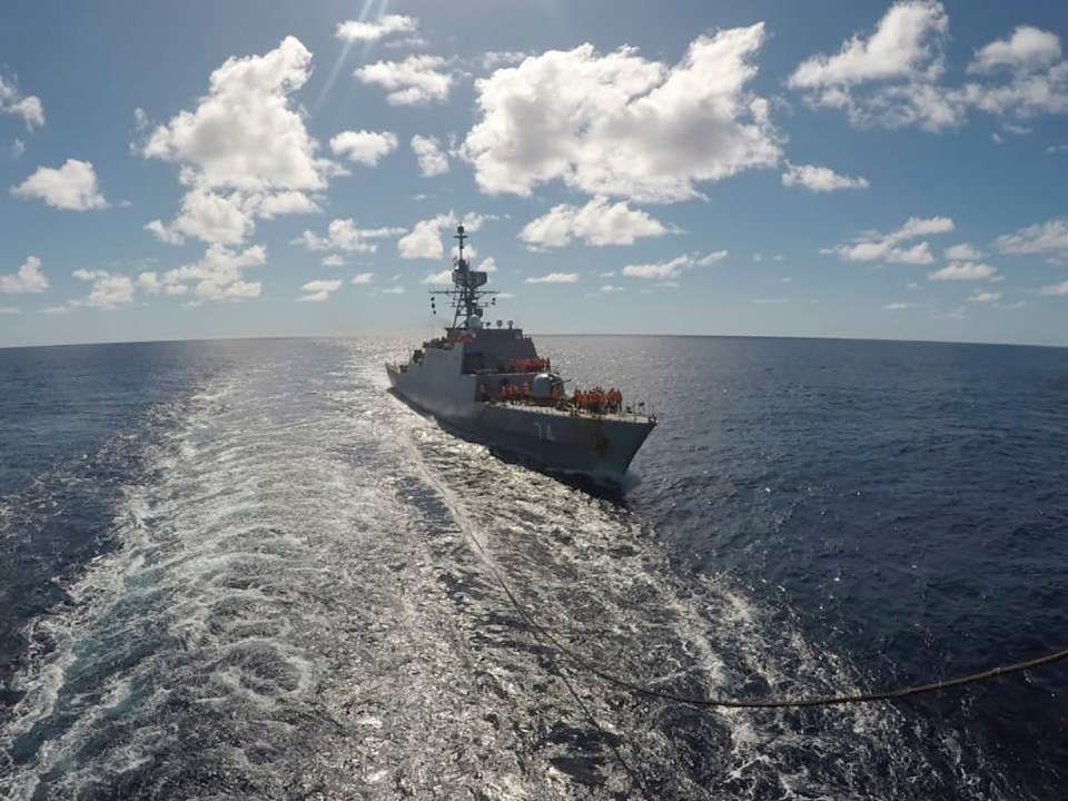 Adm. Habibollah Sayyari, Iran's deputy army chief, has said the ships' mission was the Iranian navy's longest and most challenging voyage yet