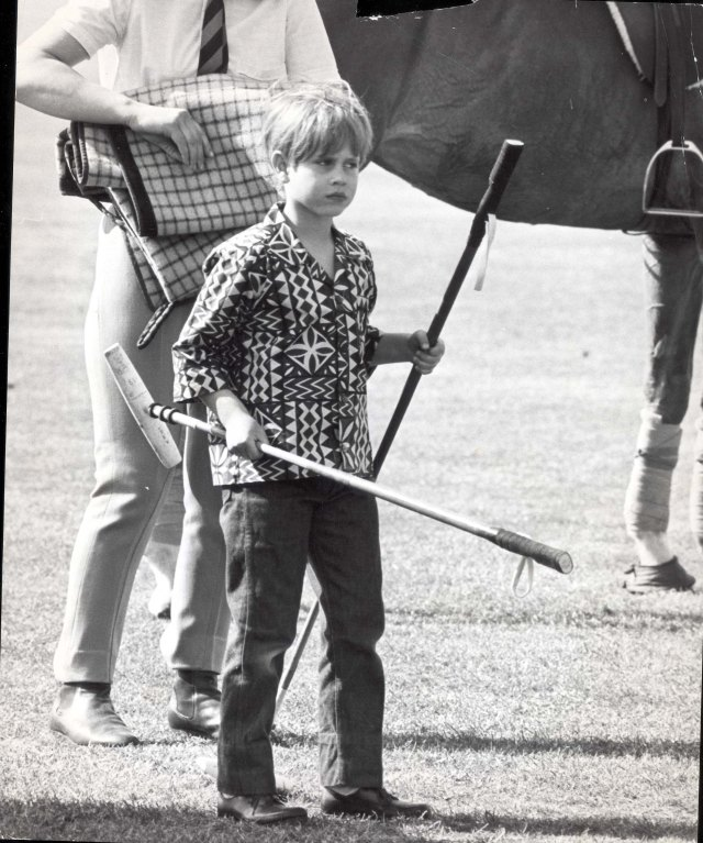 At five, Edward reportedly told Neil Armstrong he wanted to be an astronaut. Pictured: Prince Edward At Smith's Lawn For The Polo Earl Of Wessex
