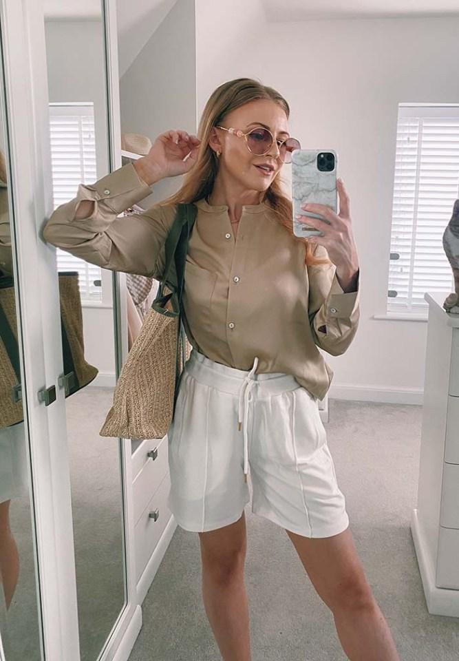Sophie nabbed these Karen Millen lounge smart ponte shorts  for just £11, after saving a huge £35 - that 69% off