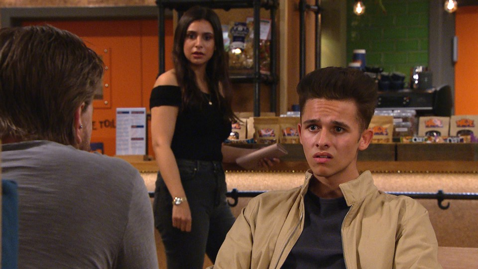 Meena encourages Jacob to go with Leanna