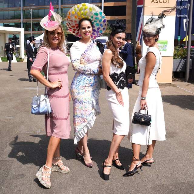 Last year the event took place virtually, so people have been dusting off their finest outfits for the 2021 festivities
