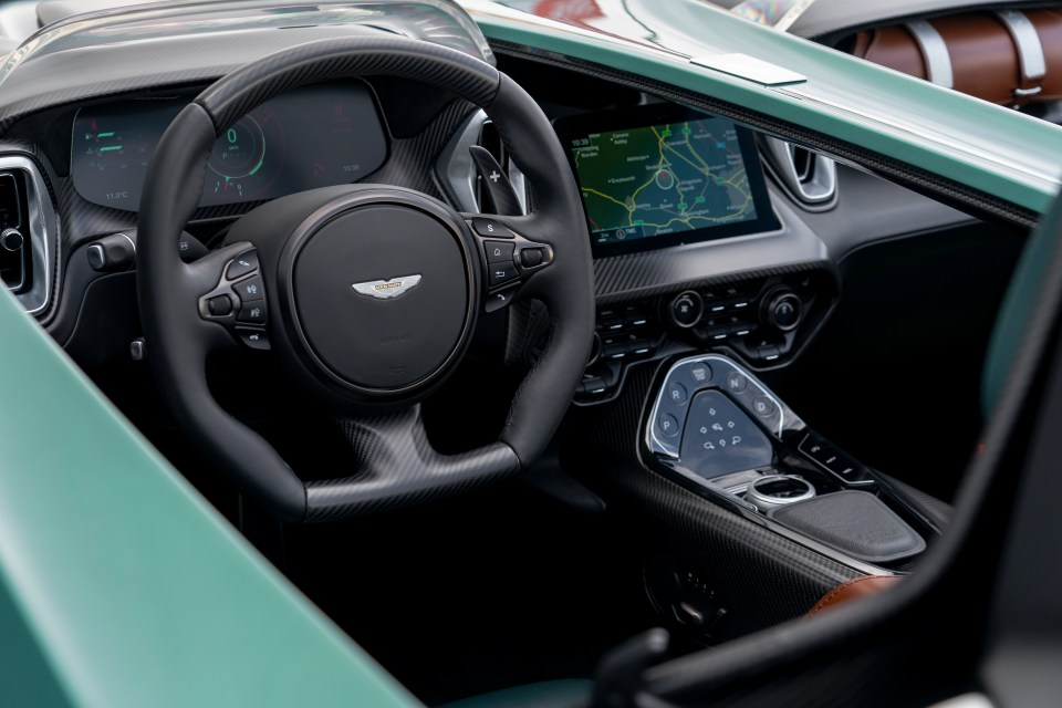 This car is today's equivalent of the legendary DBR1 racer from the Fifties, which is now worth about £25million
