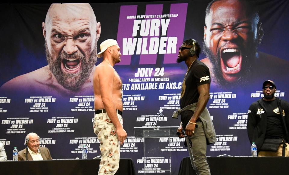 Tyson Fury will renew his rivalry with Deontay Wilder on July 24