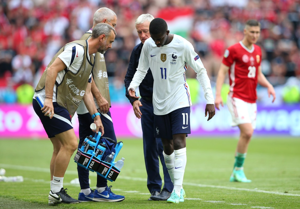 France in Euro 2020 blow with Ousmane Dembele ruled OUT of tournament after  picking up injury against Hungary | Digitpatrox