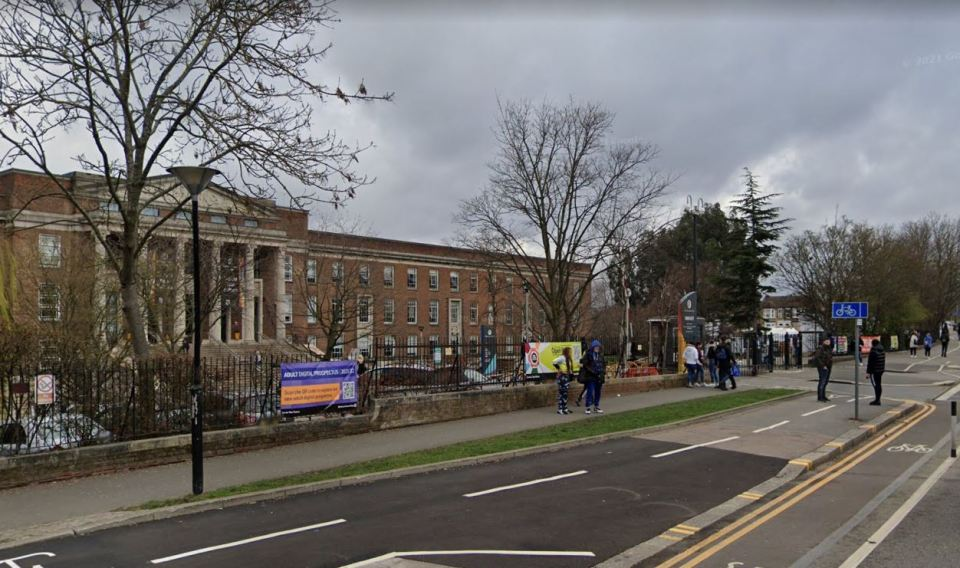 A second teen, 17, collapsed outside Waltham Forest College