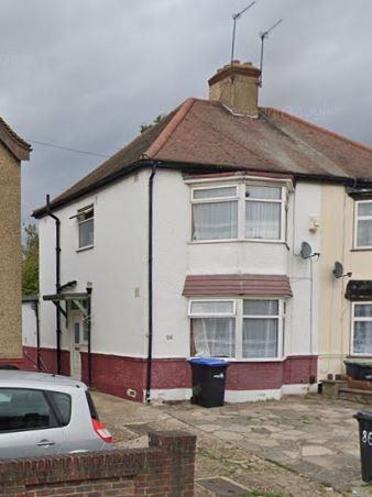 The home in Enfield, North London