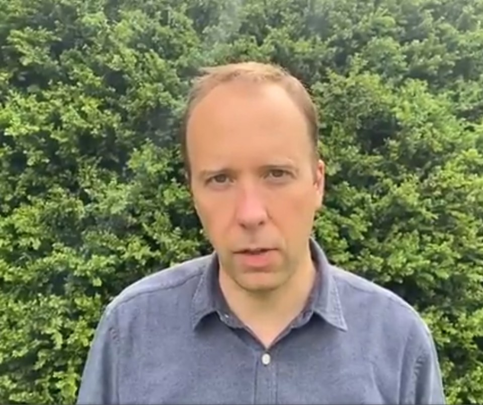 Health Secretary Matt Hancock has resigned