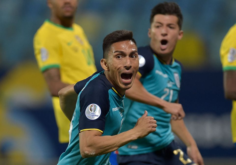 Angel Mena rescued a point for Ecuador in the second half