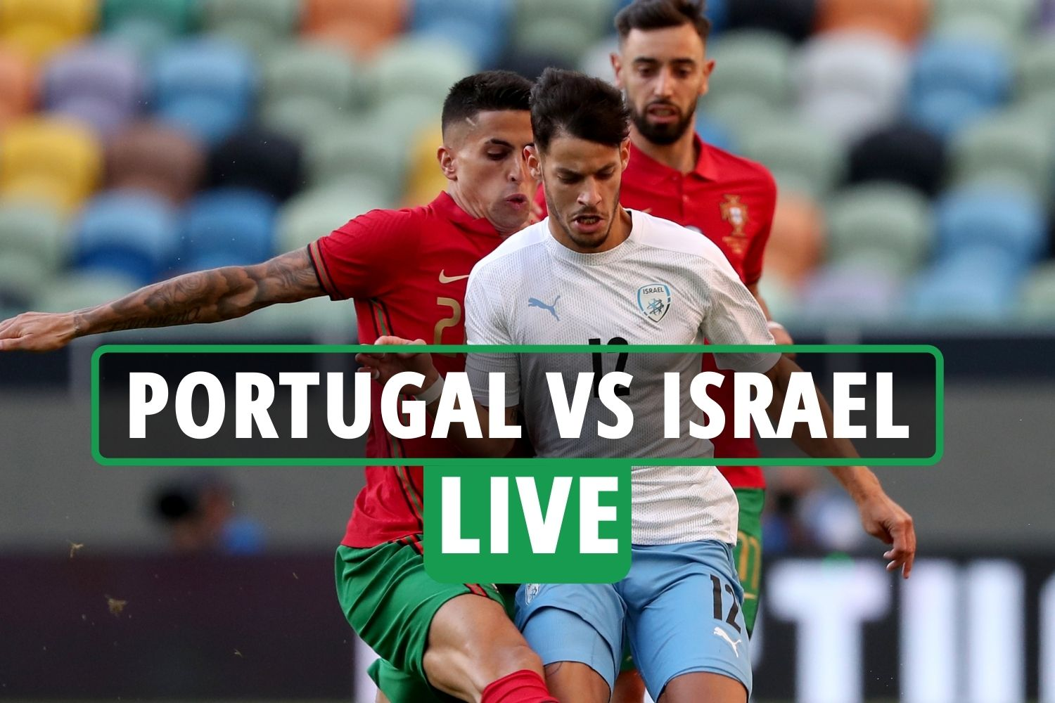 Portugal vs Israel LIVE: Stream, TV channel as Cristiano Ronaldo adds  second after Bruno Fernandes opener - 247 News Around The World