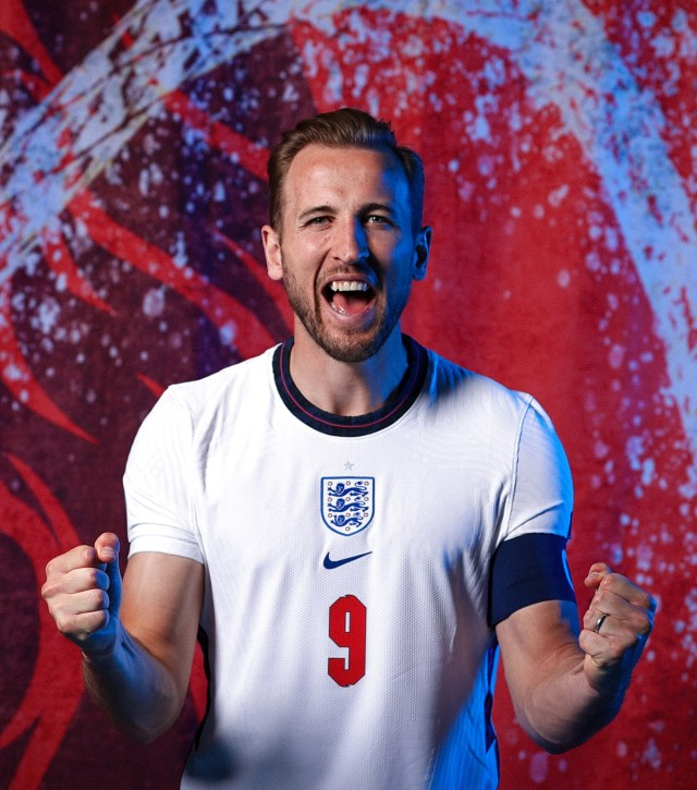 The nation is ready to cheer Harry Kane's lions to victory