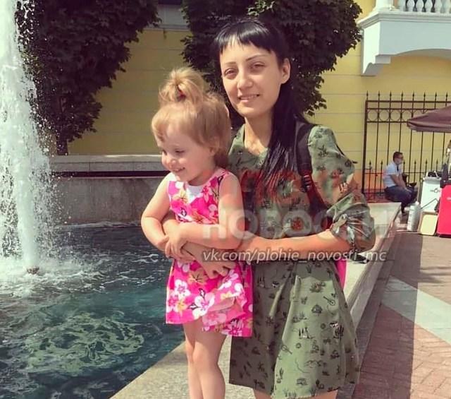 Anna Ruzankina and her daughter Anastasia