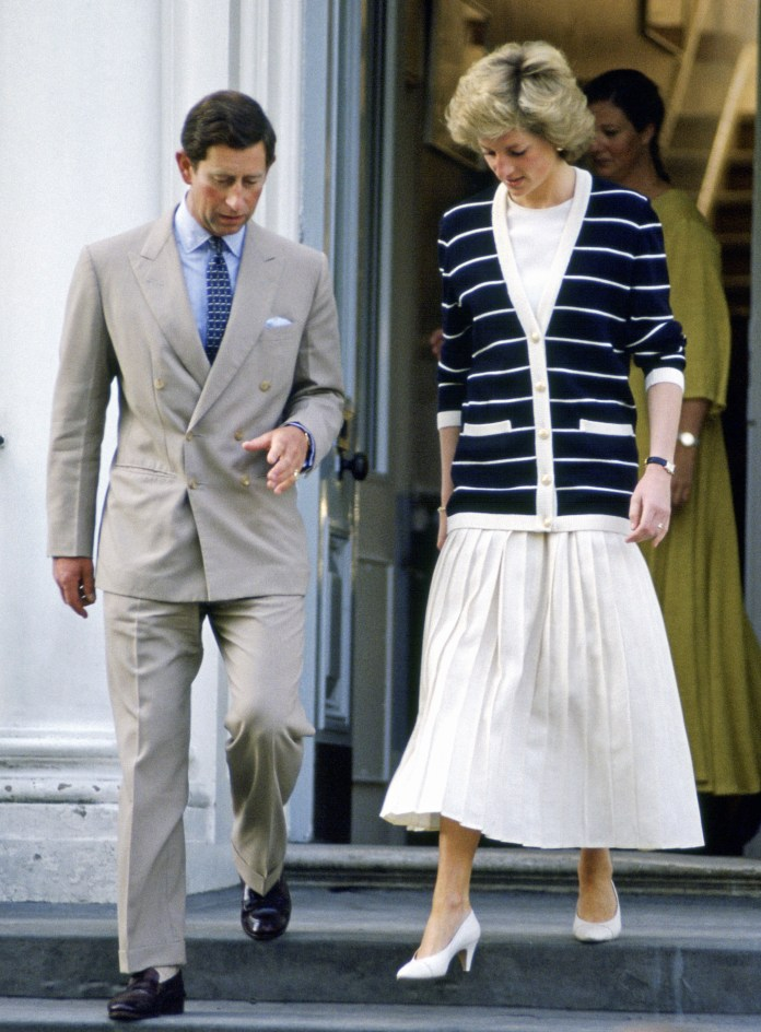 Diana used to be a big fan of soft skirts and knits