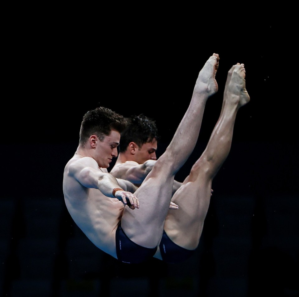 Tom Daley and Matty Lee stunned in the 10m synchronised diving