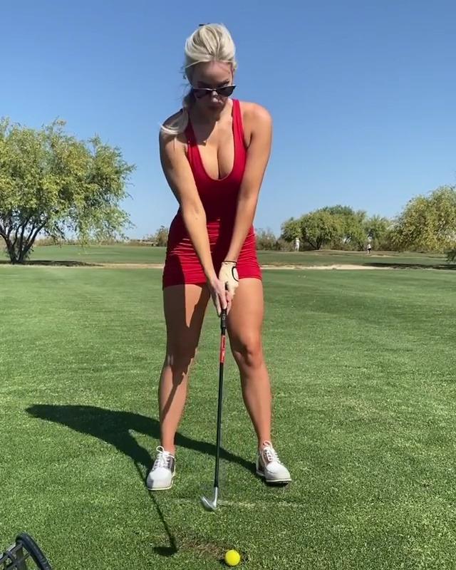 Spiranac is a former professional golfer