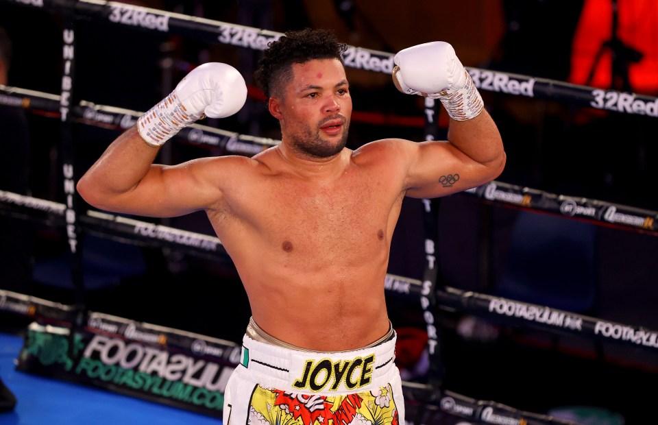 Joe Joyce has his sights set on heavyweight title glory