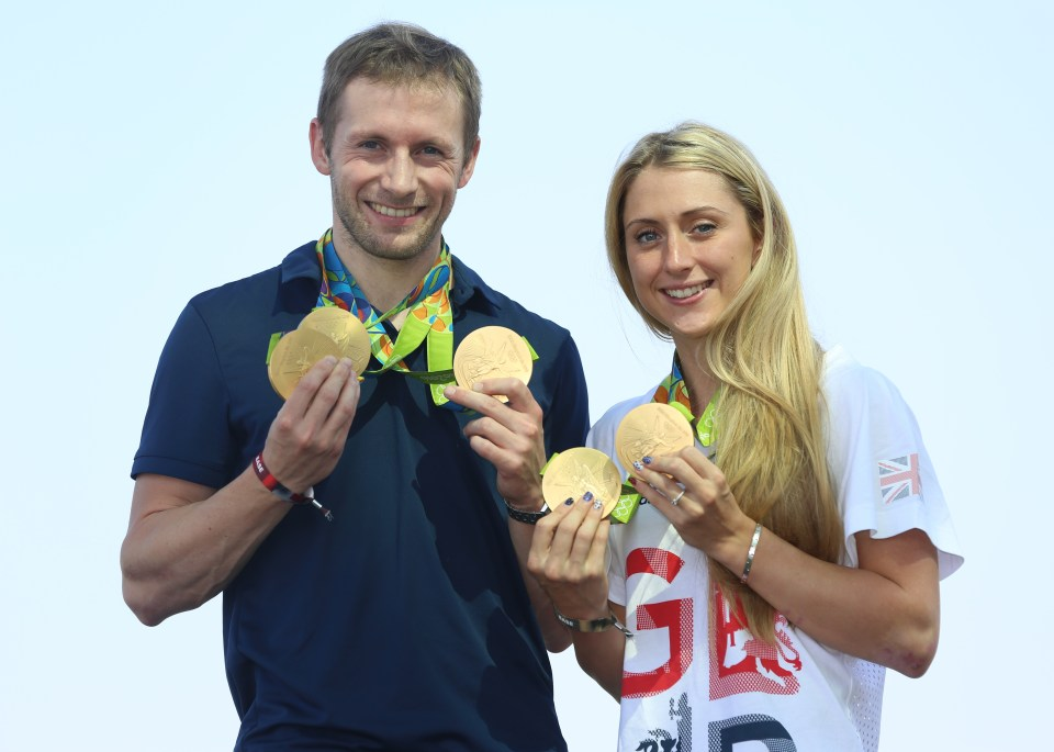 Jason and Laura Kenny will be competing at this year's Tokyo Olympics