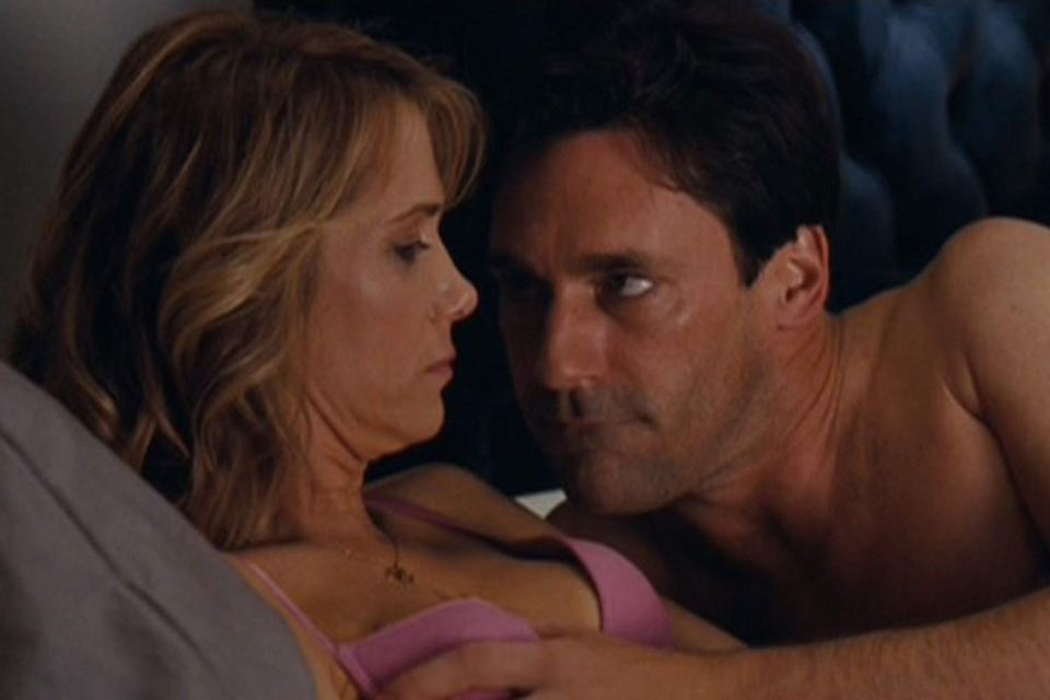 John Hamm tried to 'have fun with' his sex scene alongside Kristen Wiig in Bridesmaids