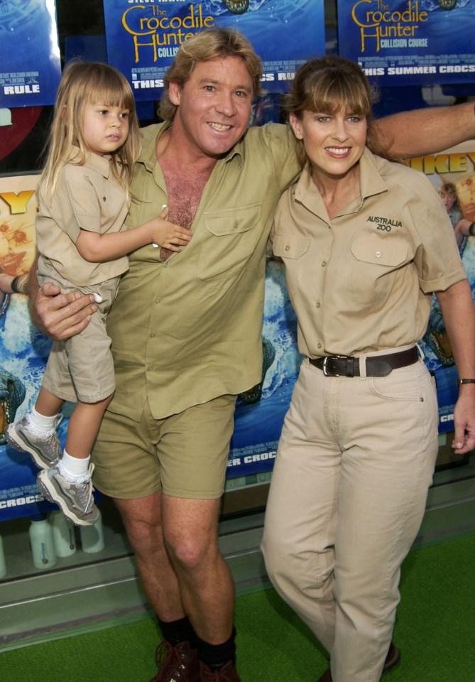 Bindi is the eldest child of the late Steve Irwin and wife Terri