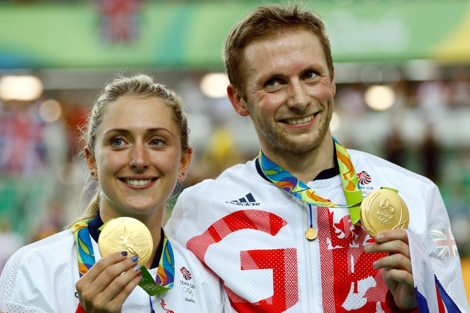 Jason and Laura Kenny have won quite a few Olympic gold medals together
