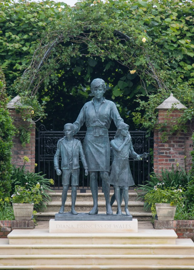 William and Harry unveiled a statue in tribute to their late mother in the Sunken Garden at Kensington Palace on what would have been Diana's 60th birthday