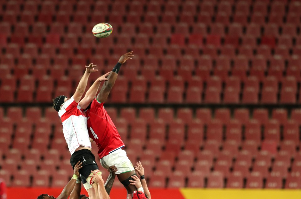 The entirety of the Lions tour will be played in front of empty stands with no fans allowed