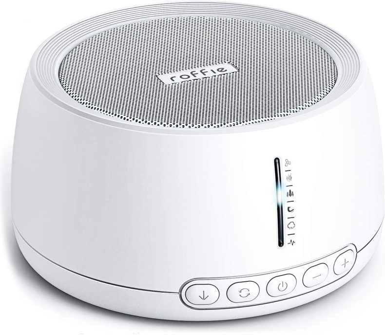 White noise machines are key to drowning out external noises