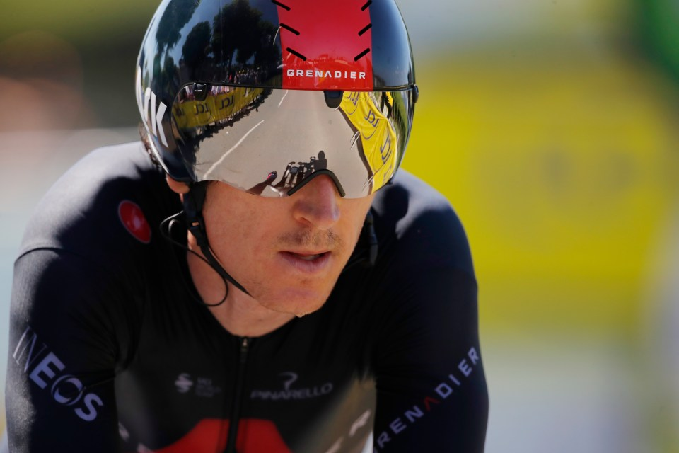 Geraint Thomas is going for gold after his heroics in the Tour de France